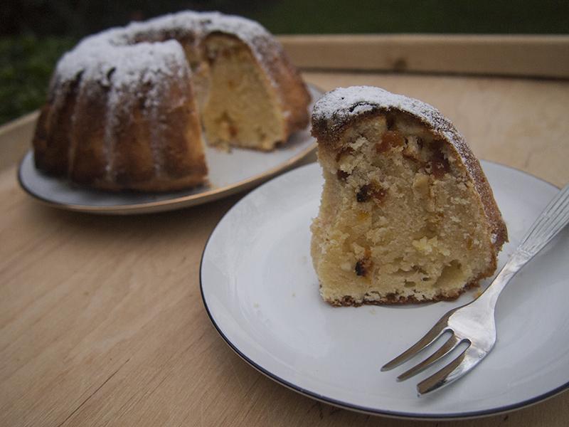 Gdańska książka kucharska - kings cake