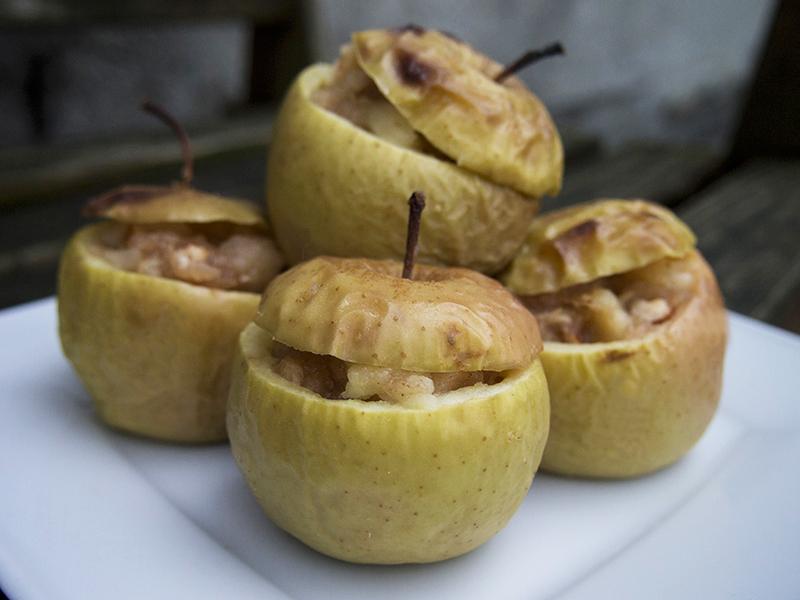 Gdańska książka kucharska: nadziewane jabłka