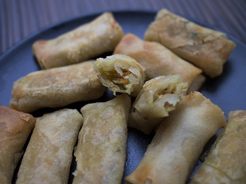 Obiad Z Kartonika Sajgonki Nerdy Cookin