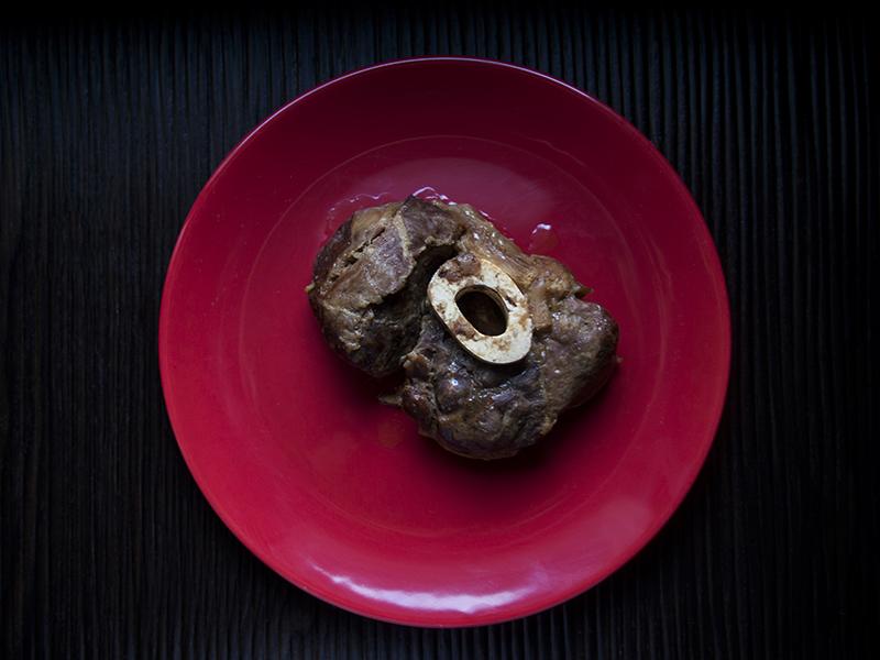 Obiad z karotnika: ossobuco