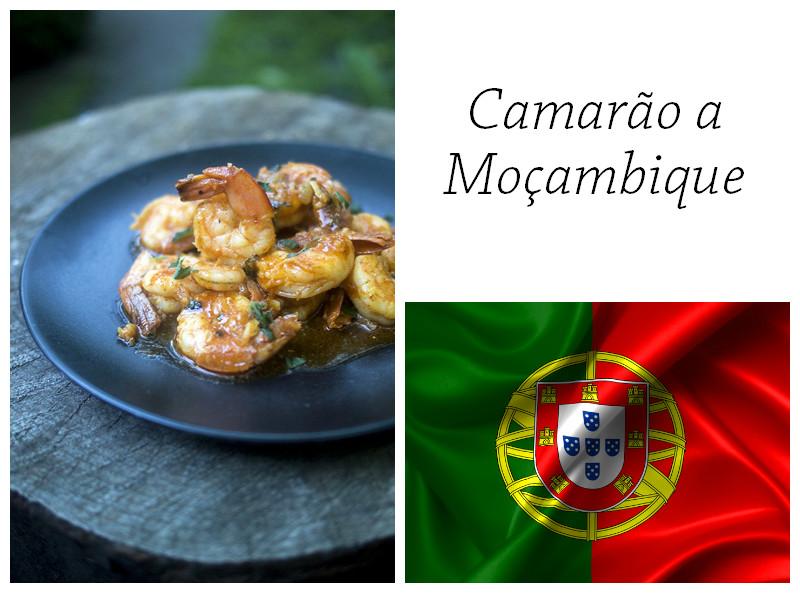 Camarão a Moçambique