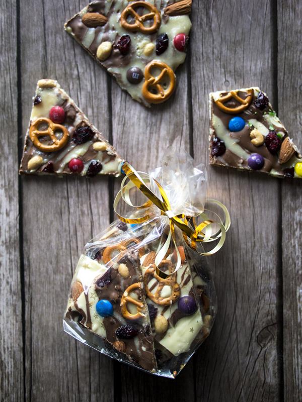 słodycze prezent na mikołajki, czekolada diy nerdycookin